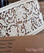 Invitatie de nunta cod 5539 din Catalogul Concept