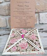 Invitatie de nunta cod 5540 din Catalogul Concept