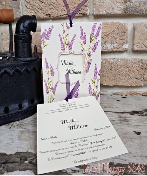 Invitatie de nunta cod 5545 din Catalogul Concept
