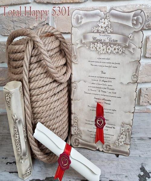 Invitatie de nunta cod 5301 din Catalogul Concept