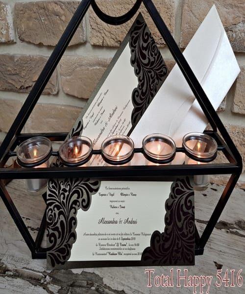 Invitatie de nunta cod 5416 din Catalogul Concept