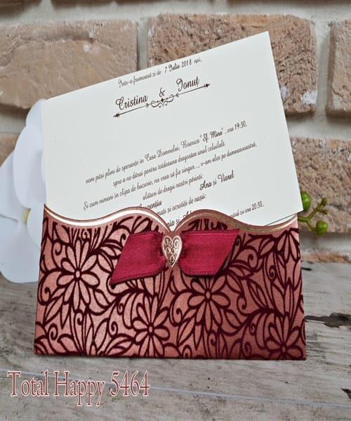 Invitatie de nunta cod 5464 din Catalogul Concept