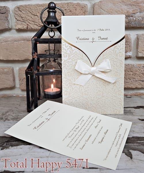 Invitatie de nunta cod 5471 din Catalogul Concept