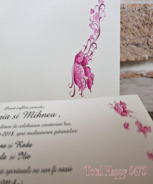 Invitatie de nunta cod 5475 din Catalogul Concept