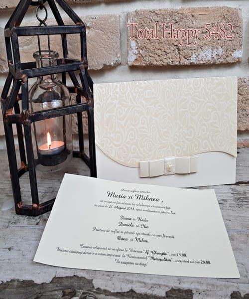 Invitatie de nunta cod 5482 din Catalogul Concept