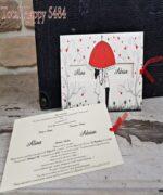 Invitatie de nunta cod 5484 din Catalogul Concept