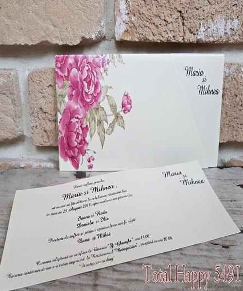 Invitatie de nunta cod 5491 din Catalogul Concept