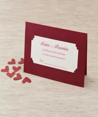 Plic de bani nunta cod 1010 din Catalogul Polen