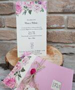 Invitatie de nunta cod 5549 din Catalogul Concept