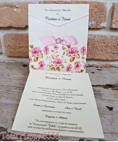 Invitatie de nunta cod 5558 din Catalogul Concept