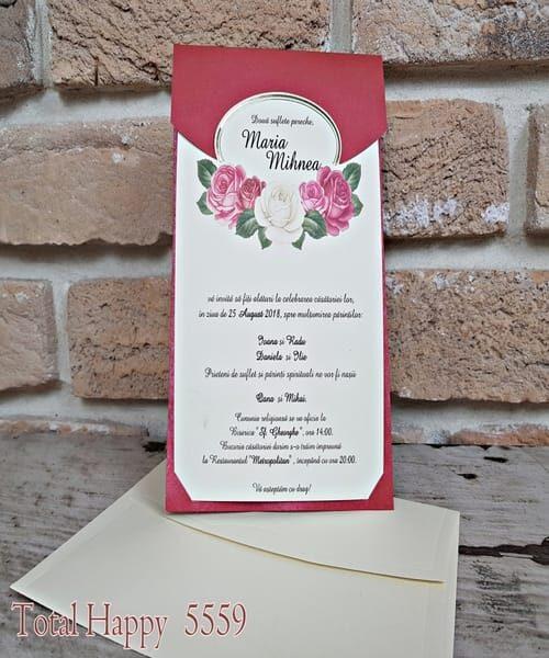 Invitatie de nunta cod 5559 din Catalogul Concept