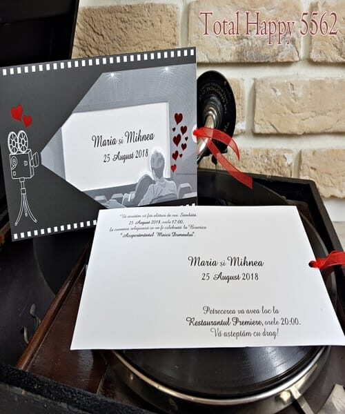 Invitatie de nunta cod 5562 din Catalogul Concept