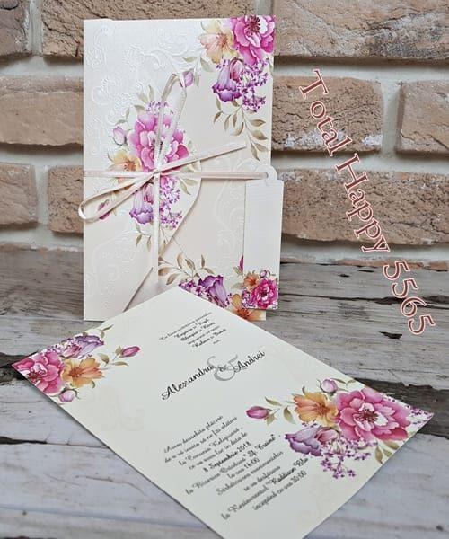 Invitatie de nunta cod 5565 din Catalogul Concept