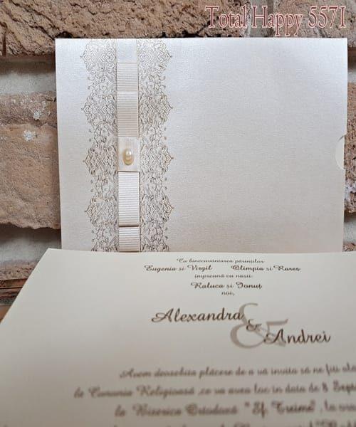 Invitatie de nunta cod 5571 din Catalogul Concept