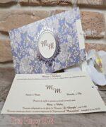 Invitatie de nunta cod 5574 din Catalogul Concept