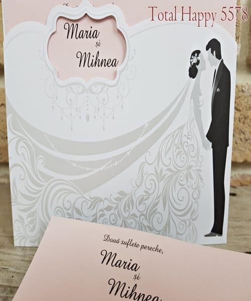 Invitatie de nunta cod 5578 din Catalogul Concept-1