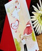 Invitatie de nunta cod 32708 din Catalogul Alice