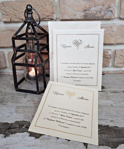 Invitatie de nunta cod 2541 din Catalogul Popular
