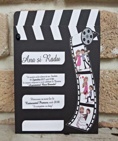 Invitatie de nunta cod 2609 din Catalogul Popular