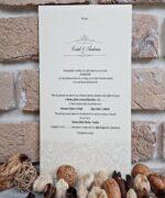 Invitatie de nunta cod 2619 din Catalogul Popular