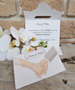 Invitatie de nunta cod 2630 din Catalogul Popular