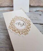 Invitatie de nunta cod 2648 din Catalogul Popular