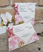 Invitatie de nunta cod 2652 din Catalogul Popular