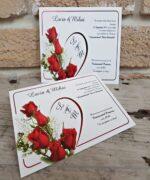 Invitatie de nunta cod 2656 din Catalogul Popular