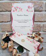 Invitatie de nunta cod 2673 din Catalogul Popular