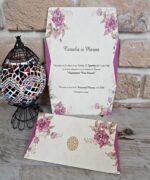 Invitatie de nunta cod 2674 din Catalogul Popular
