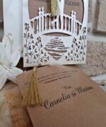 Invitatie de nunta cod 2680 din Catalogul Popular