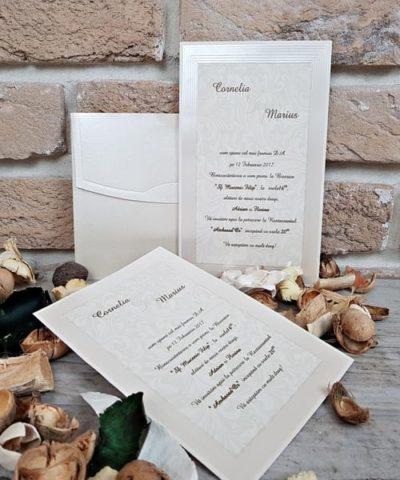 Invitatie de nunta cod 2684 din Catalogul Popular