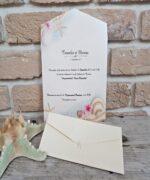 Invitatie de nunta cod 2701 din Catalogul Popular