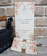 Invitatie de nunta cod 2706 din Catalogul Popular