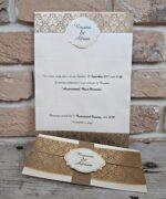 Invitatie de nunta cod 2707 din Catalogul Popular