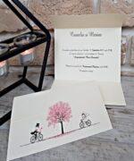Invitatie de nunta cod 2714 din Catalogul Popular