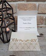 Invitatie de nunta cod 2716 din Catalogul Popular