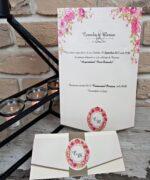 Invitatie de nunta cod 2719 din Catalogul Popular