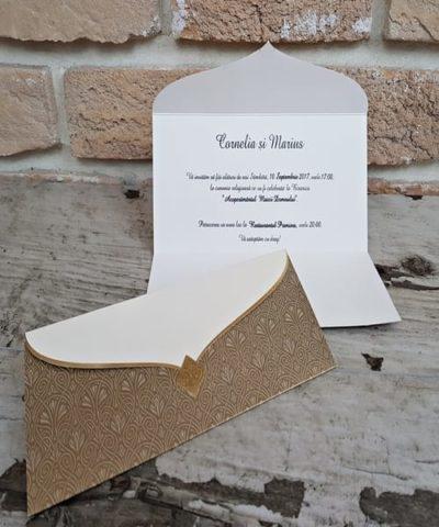 Invitatie de nunta cod 2728 din Catalogul Popular
