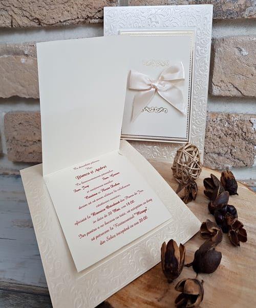 Invitatie de nunta cod 2733 din Catalogul Popular