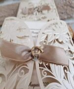 Invitatie de nunta cod 2735 din Catalogul Popular