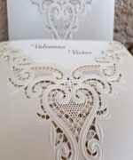 Invitatie de nunta cod 2736 din Catalogul Popular