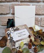 Invitatie de nunta cod 2737 din Catalogul Popular
