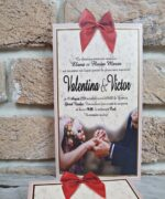 Invitatie de nunta cod 2738 din Catalogul Popular