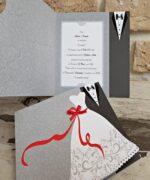 Invitatie de nunta cod 2739 din Catalogul Popular