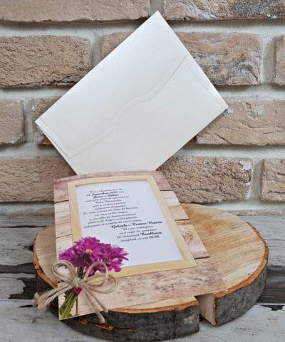 Invitatie de nunta cod 2748 din Catalogul Popular