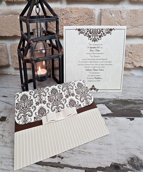 Invitatie de nunta cod 2751 din Catalogul Popular