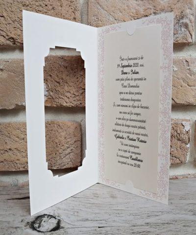 Invitatie de nunta cod 2756 din Catalogul Popular