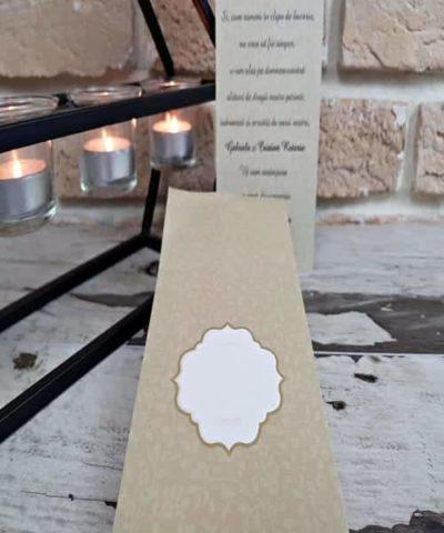 Invitatie de nunta cod 2758 din Catalogul Popular