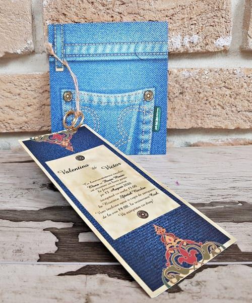 Invitatie de nunta cod 2762 din Catalogul Popular